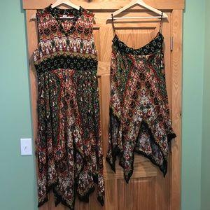 Lot of Bila XL Dress and XL skirt NWOT